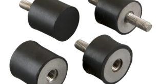 Non-corroding anti-vibration mounts