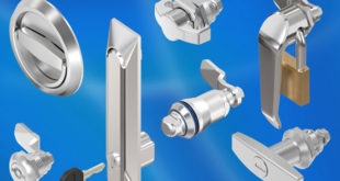 Stainless steel cabinet and enclosure latch/locks