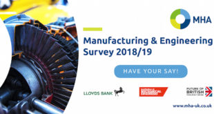 MHA Manufacturing and Engineering Survey now open!