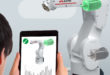 Industrial robots access AI via the cloud