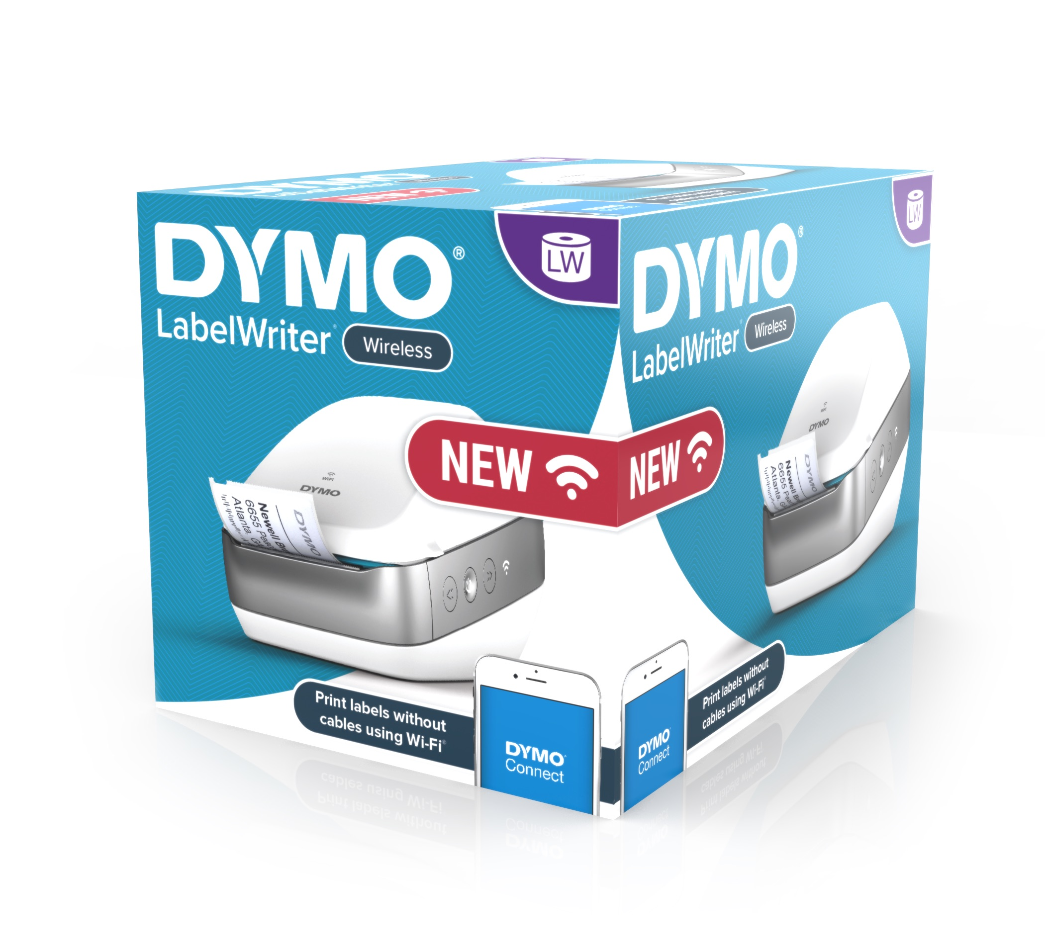 RS Components introduces new DYMO wireless label printer for