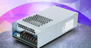 Compact chassis-mount 350W AC-DC power supplies