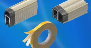 Sheathed EMC gasket supplements EMC protection