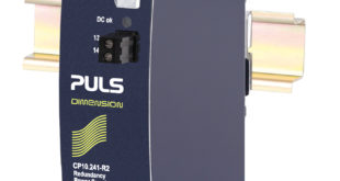 DIN-Rail power supplies available with internal decoupling and hot-swap connections