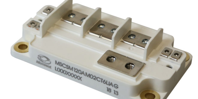 Microsemi announces extremely low inductance SP6LI package