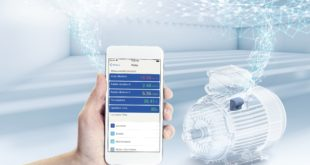 Real-time monitoring of motors via a smart device App