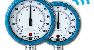 Smart pressure gauge delivers safer and more reliable readings