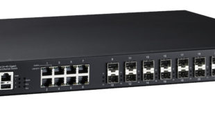 MAC Solutions extends its range of 19-inch rack mount Ethernet switches with the Korenix JetNet 5428G-20SFP