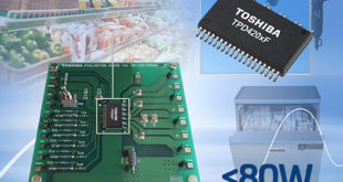 Toshiba announces evaluation board for three-phase BLDC motor drive ICs