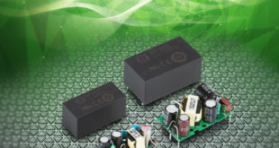 3W and 10W board-mount power supplies suit IoT applications