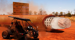 Cables make solar-powered off-road vehicle fit for the world record