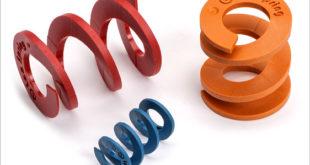 Plastic composite compression springs