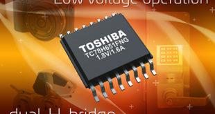 Dual H-bridge driver IC for DC brushed motors and stepping motors