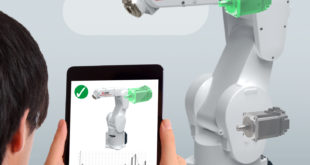 Industrial robots access AI via the cloud
