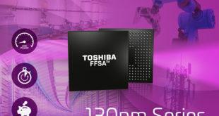Toshiba unveils 130nm fit fast structured array development platform