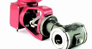 Eccentric plug rotary control valve