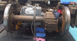 Predictive maintenance of rail traction motors
