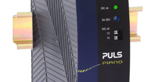 Ultra-compact, high power DIN-Rail power supply