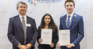 Hundreds of UK teens honoured at national engineering awards