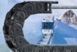 Ice-chain keeps equipment moving in freezing temperatures