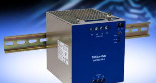 960W DIN rail power supply has a 1,440W peak rating