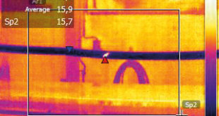 Pinpointing cable faults with thermal imaging
