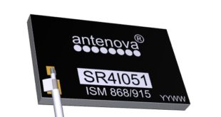 1.6mm high antenna for metal surfaces