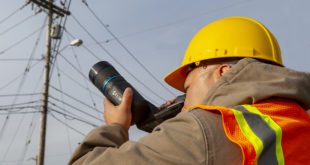 Thermal camera for electrical utility, plant managers