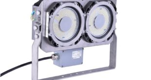 Ex-protected FX60 LED floodlights: longer life, lower maintenance, reduced power consumption