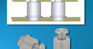 Unthreaded standoffs: quick attachment and removal of stacked components without using screws
