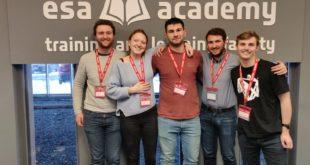 Engineering students undertake European Space Agency training
