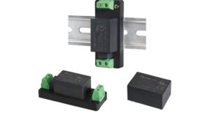 3W and 5W encapsulated AC-DC power supplies offer multiple mounting options