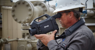 High-definition handheld cooled optical gas imaging camera