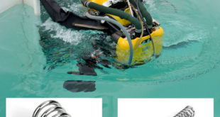 Custom valve springs supports saturation diving safety