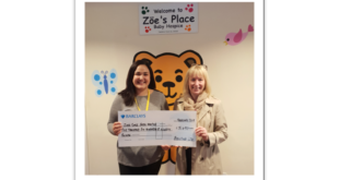 Engineering firm raise thousands for children's hospice