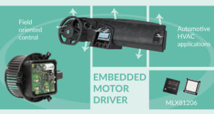 Melexis extends its smart embedded motor drive portfolio for automotive applications