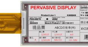 Pervasive Displays expands range of red tri-color e-paper displays with two new sizes