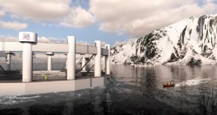 Powering arctic offshore farming