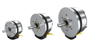 Motors provide low-to-medium speed options for applications that require a high torque in short design