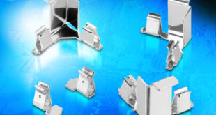 EMI/RFI Shield clips for space-constrained electronic designs
