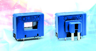 Current transducers can be mounted PCBs for non-intrusive, isolated measurements