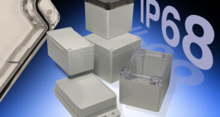 Hammond Electronics adds 36 new configurations to Industry 4.0 1554 and 1555 sealed enclosures