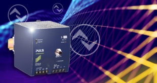 Power supply provides real-time information on power, temperature, status