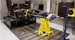 Highly configurable test system adapts to any torque transfer device geometry
