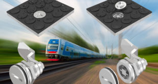 Sealed quarter-turn option for floor and ground latches in railway situations
