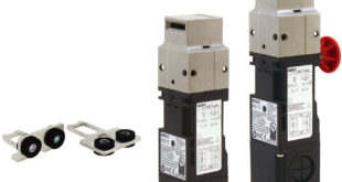 Interlock switches monitor and lock gates, doors, access points