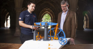 James Watt engine steams back to life with 3D-printed model
