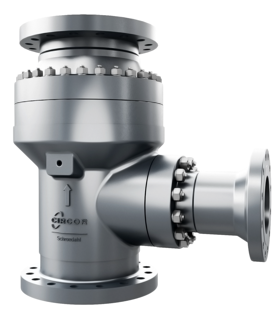Recirculation valves in cast material