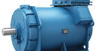 Water jacket cooled motor meets demand for reduced noise