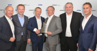 Avnet Abacus wins TDK European Distribution Award in Gold for second year in succession